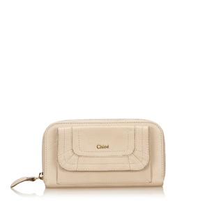 Chloé Beige,brown,leather,long Wallets,6hclco001