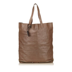 Chloé Brown Leather Others Tote