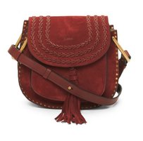 Chlo Chloe Hudson Small Red Shoulder Bag