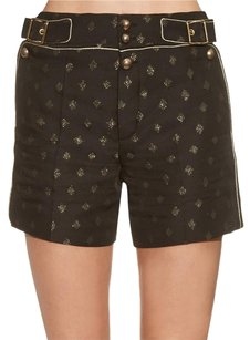 Chlo Chloe Diamond Jacquard High Dress Shorts Black