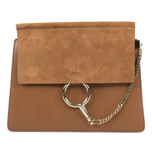 Chloé Suede Classic Leather Calfskin Shoulder Bag