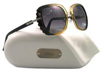 Chloé Women New Style Butterfly Brown Sunglasses