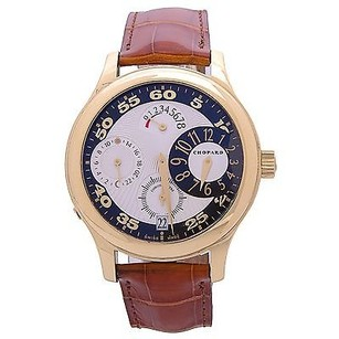 Chopard Chopard 161874 Luc Quadratto 18k Gold Chronograph Automatic Mens Limited Ed.