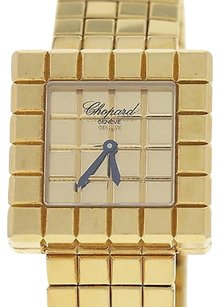 Chopard Ladies Chopard Ice Cube 18k Yellow Gold