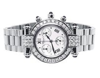 Chopard Pre-owned Womens Mm Chopard Imperialle 388388-23 Diamond Watch With Ct