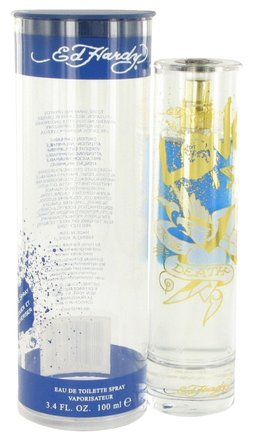 Christian Audigier Ed Hardy Love Is By Christian Audigier Eau De Toilette Spray 3.4 Oz
