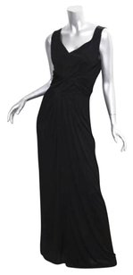 Black Maxi Dress by Christian Lacroix Womens Stretch Sleeveless Full Length Long