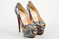 Christian Louboutin Multi-Color Platforms