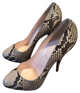Christian Louboutin Animal Print Snakeskin Python Pumps