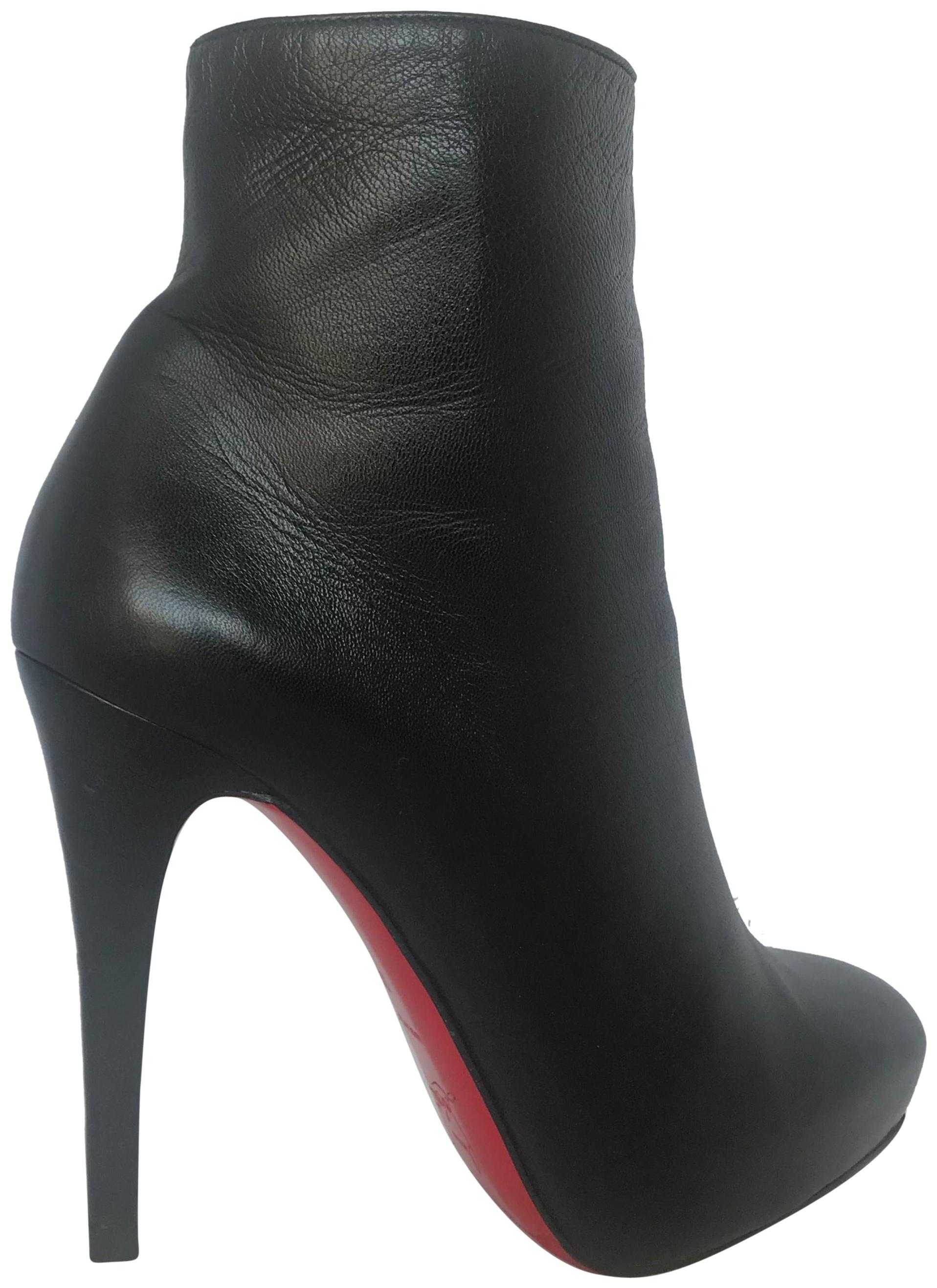 3cfaf2382561 top quality shoes gipsybootie christian louboutin d272b 3d151  where to buy christian  louboutin thigh high platform heel black ankle boots 0b020 db5a5