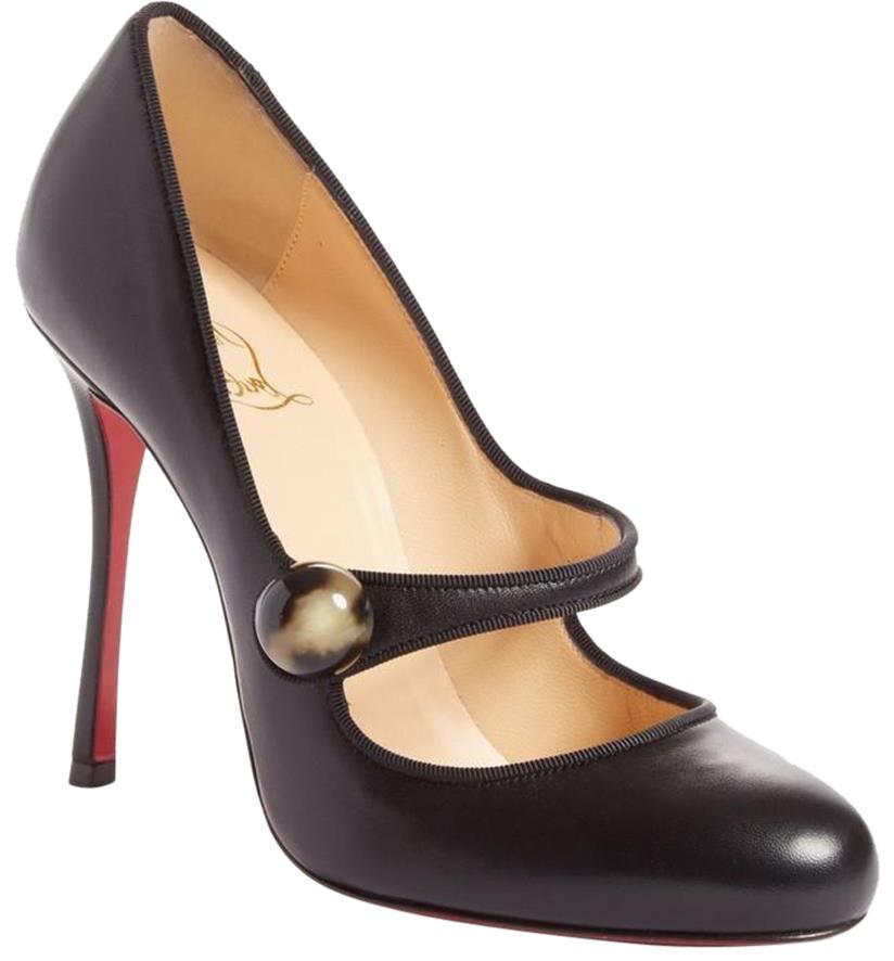 christian louboutin black mary jane