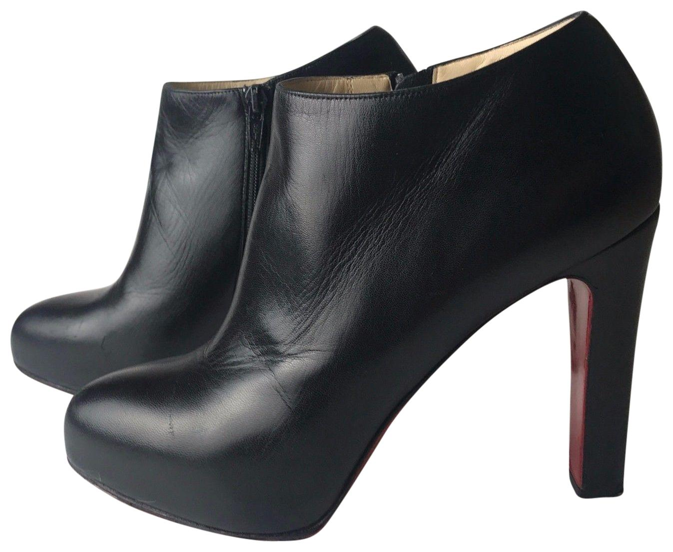 d07ba460fafb discount code for christian louboutin vicky suede ankle boots black ...