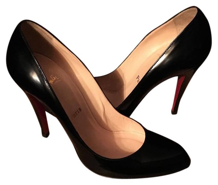 Christian Louboutin Black Décolleté 868 Pumps Size US 8.5 Regular (M, B)