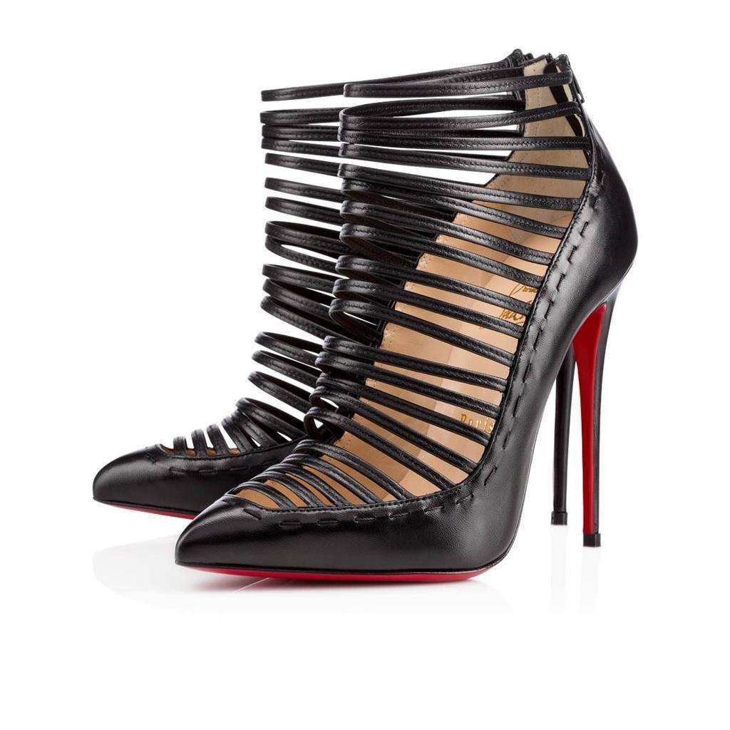Christian Louboutin Fringe Caged Sandals best prices sale online discount official site 404no