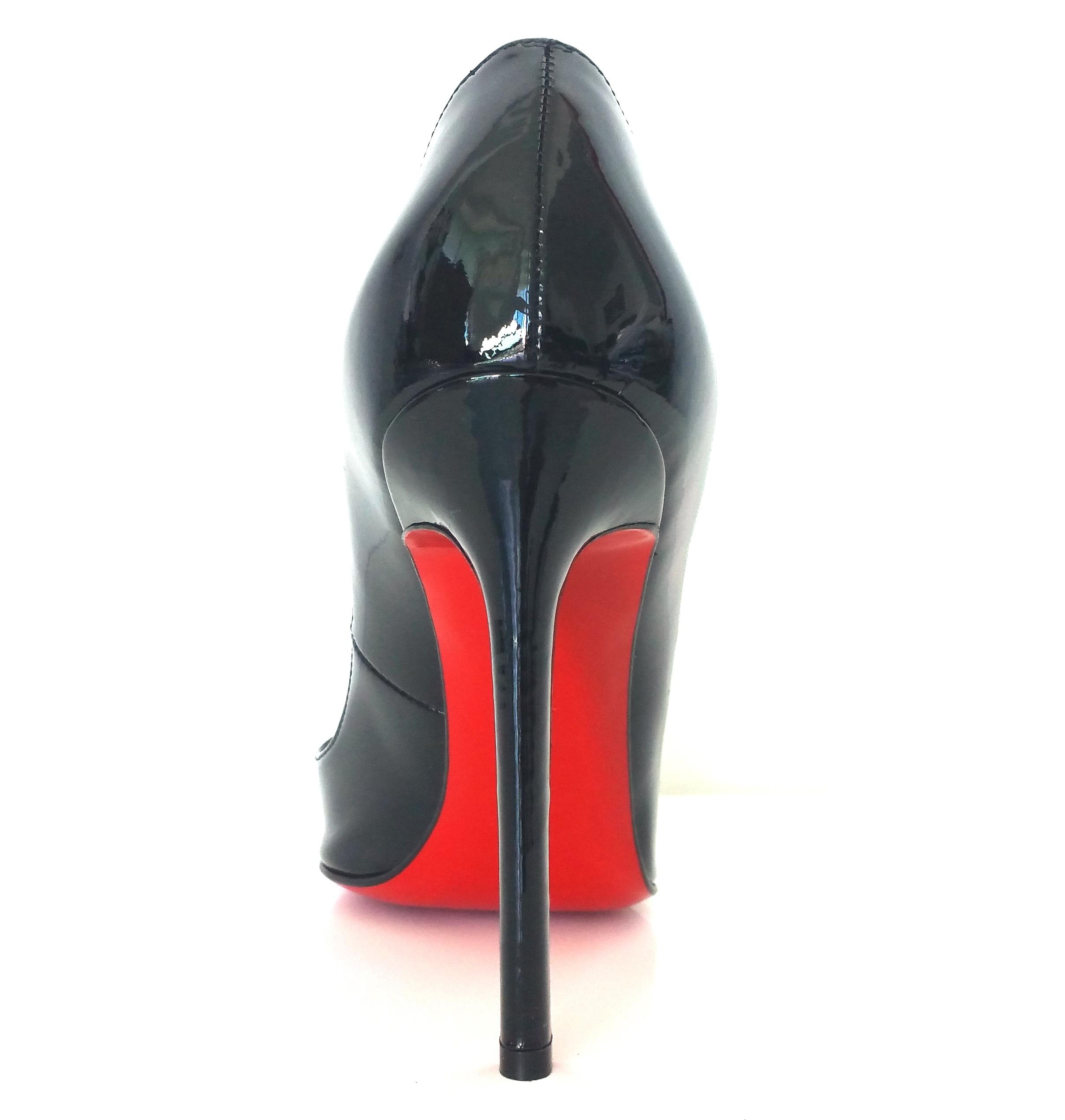 44ec9bc946a Christian Louboutin Black New Pigalle 120 Mm Patent Leather 35.5 36  Oldstyle Pumps Size US 6