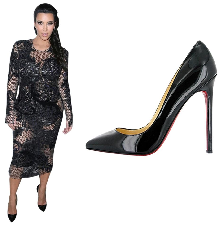 christian louboutin pigalle black patent 120