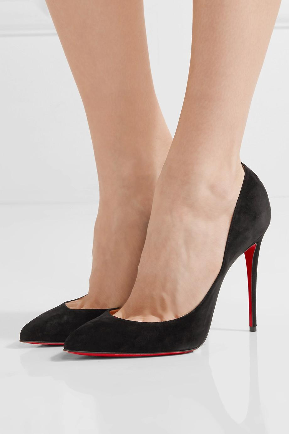christian louboutin pigalle black 100mm