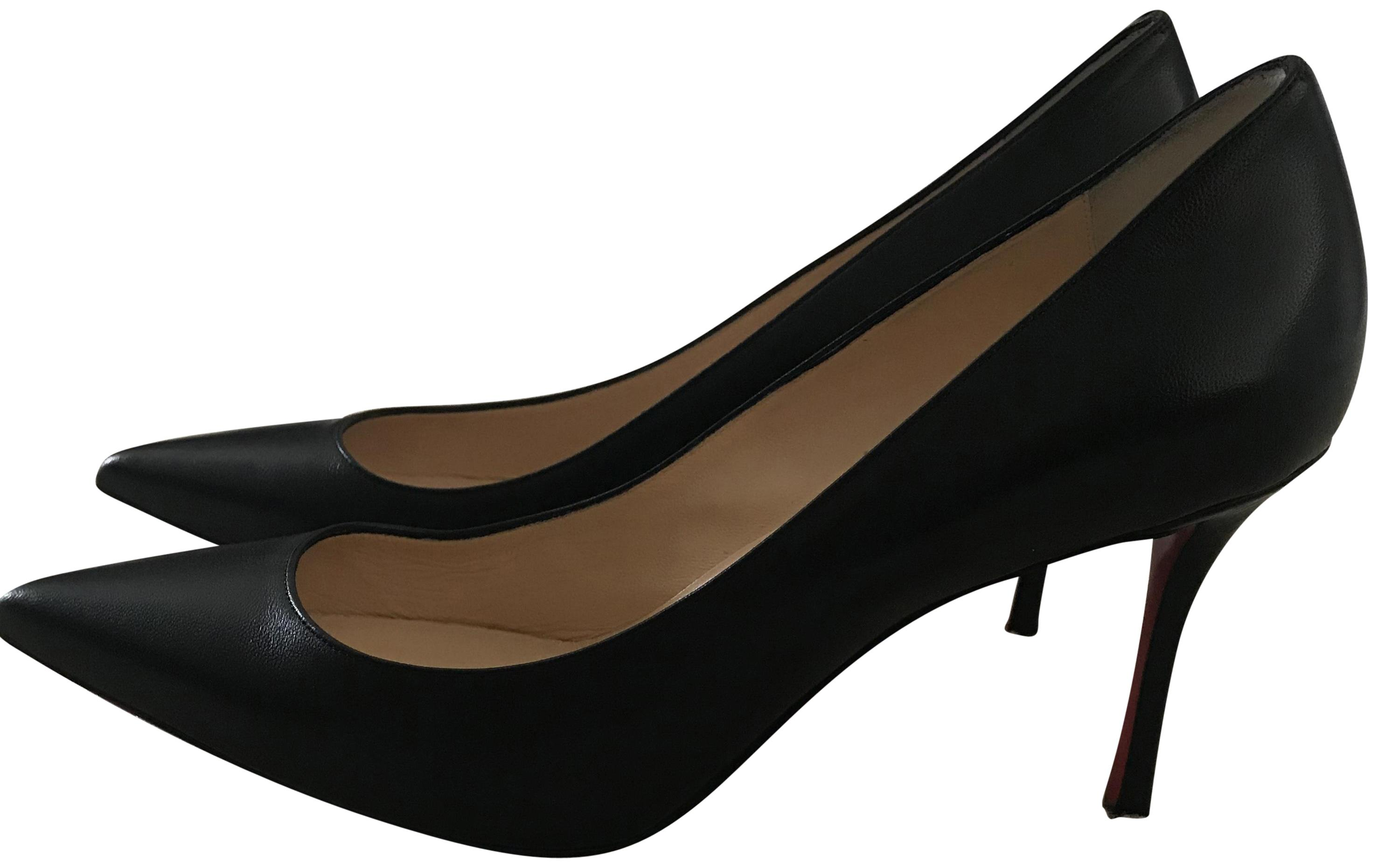 Christian Louboutin Black Pointy Toe Only Today Pumps Size EU 39 (Approx. US 9) Regular (M, B)