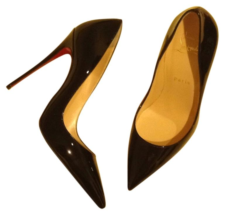 76c2d6745204 Man Woman-Christian Louboutin Louboutin Louboutin Black So Kate 120 Patent  Pumps Size US