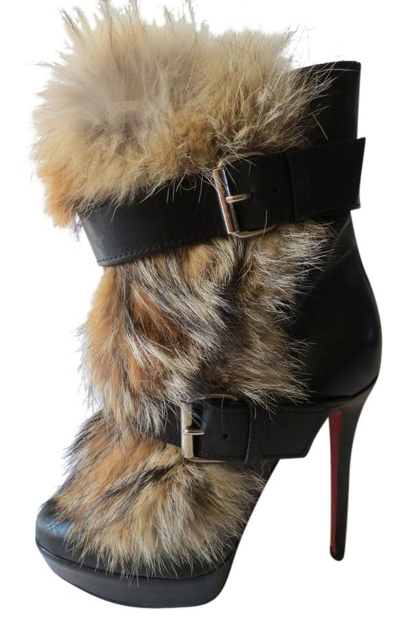 Christian Louboutin Black Toundra Boots/Booties Size EU 40.5 (Approx. US 10.5) Regular (M, B)