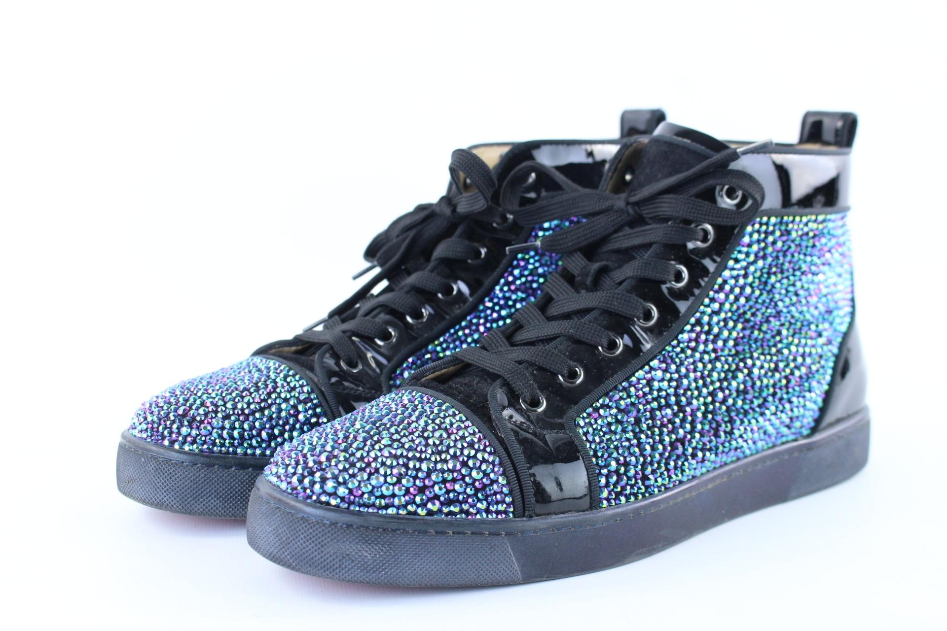 6b2d2b4956cf ... inexpensive womens blue christian louboutin shoes up to 90 off at  tradesy 71506 d9559