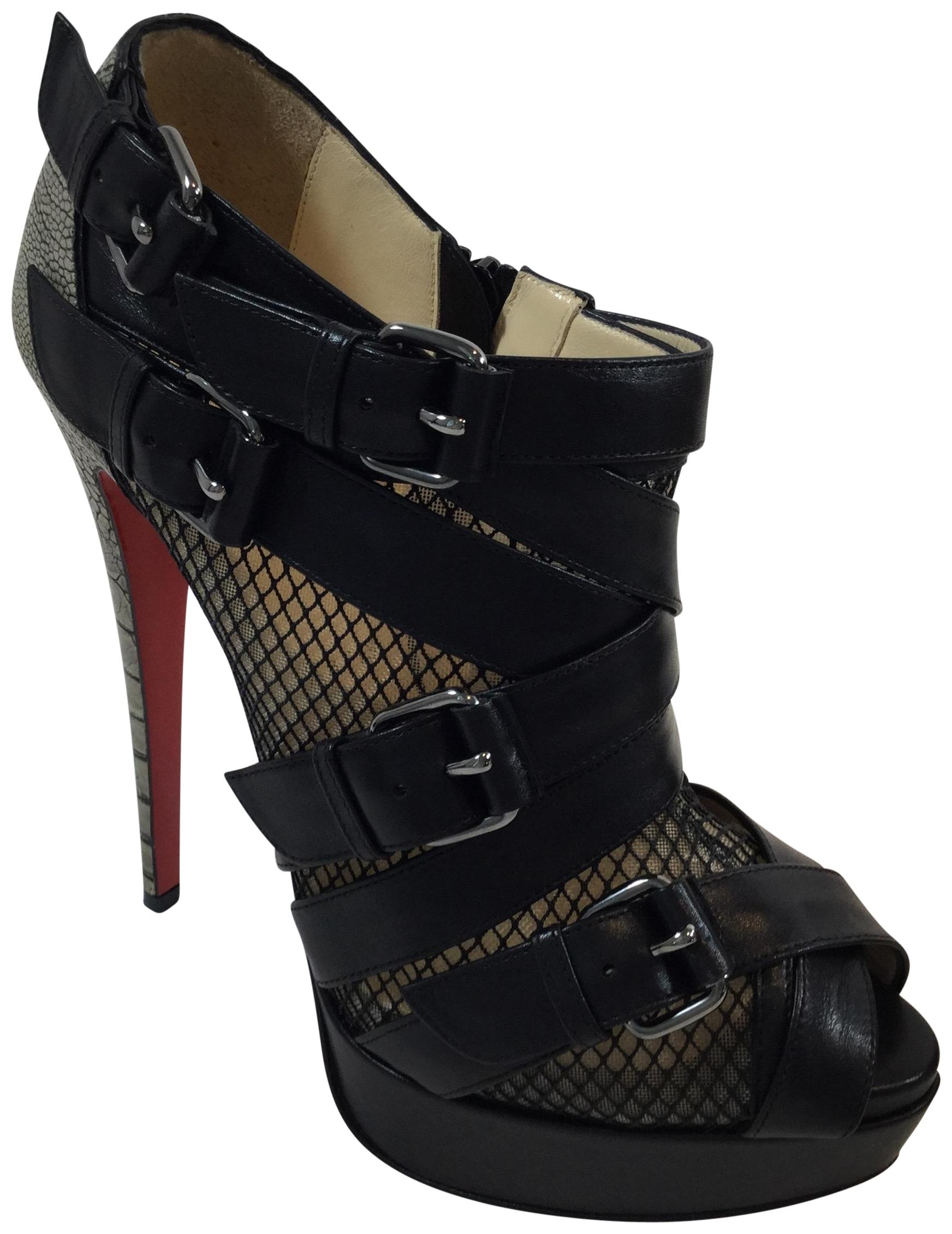 best service f7a5b 22c90 Christian Christian Christian Louboutin Black/Taupe Mad ...