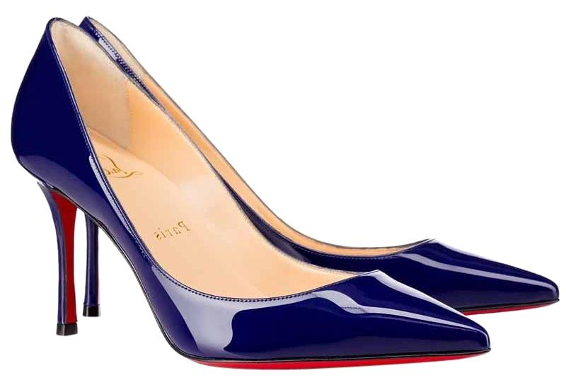 Decoltish 85 patent-leather pumps Christian Louboutin h82GpV