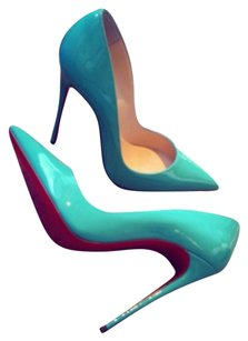 Christian Louboutin So Kate Sexy Ships Next Day Aquamarine Pumps