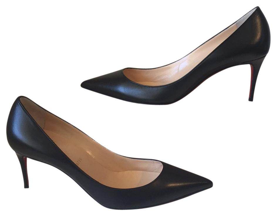Christian Louboutin Decollette 554 70 Kid Leather Pumps Size US 9.5 Regular (M, B)