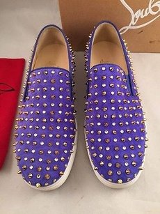 Christian Louboutin Roller Purple Athletic