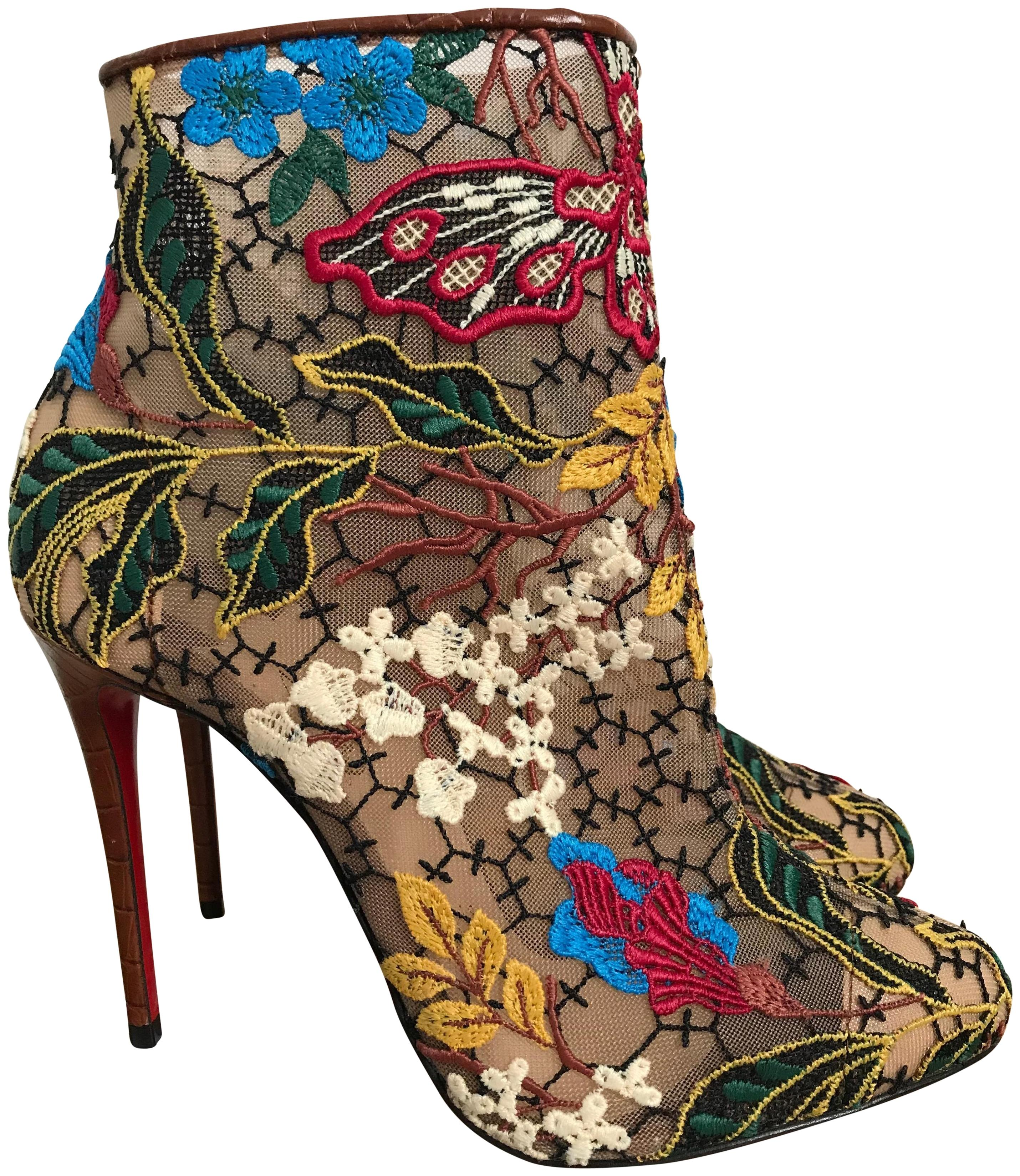 louboutin boots Multicolore
