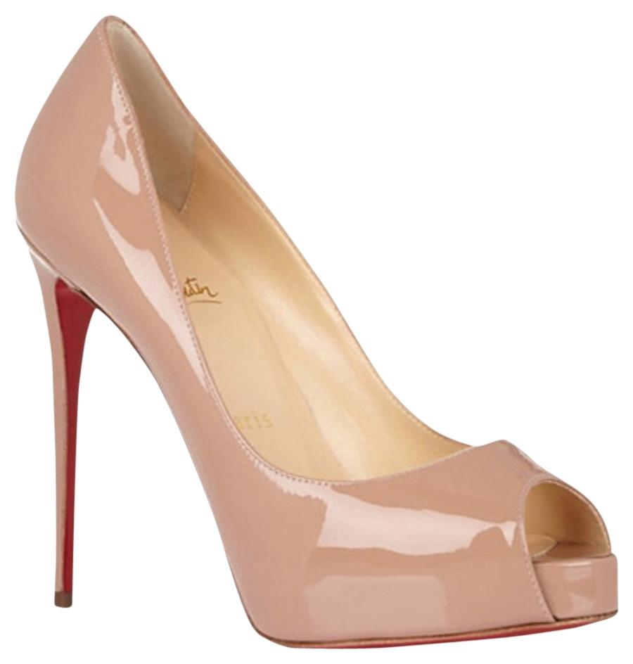 Christian Louboutin Nude 503642595 Platforms Size US 9 Regular (M, B)