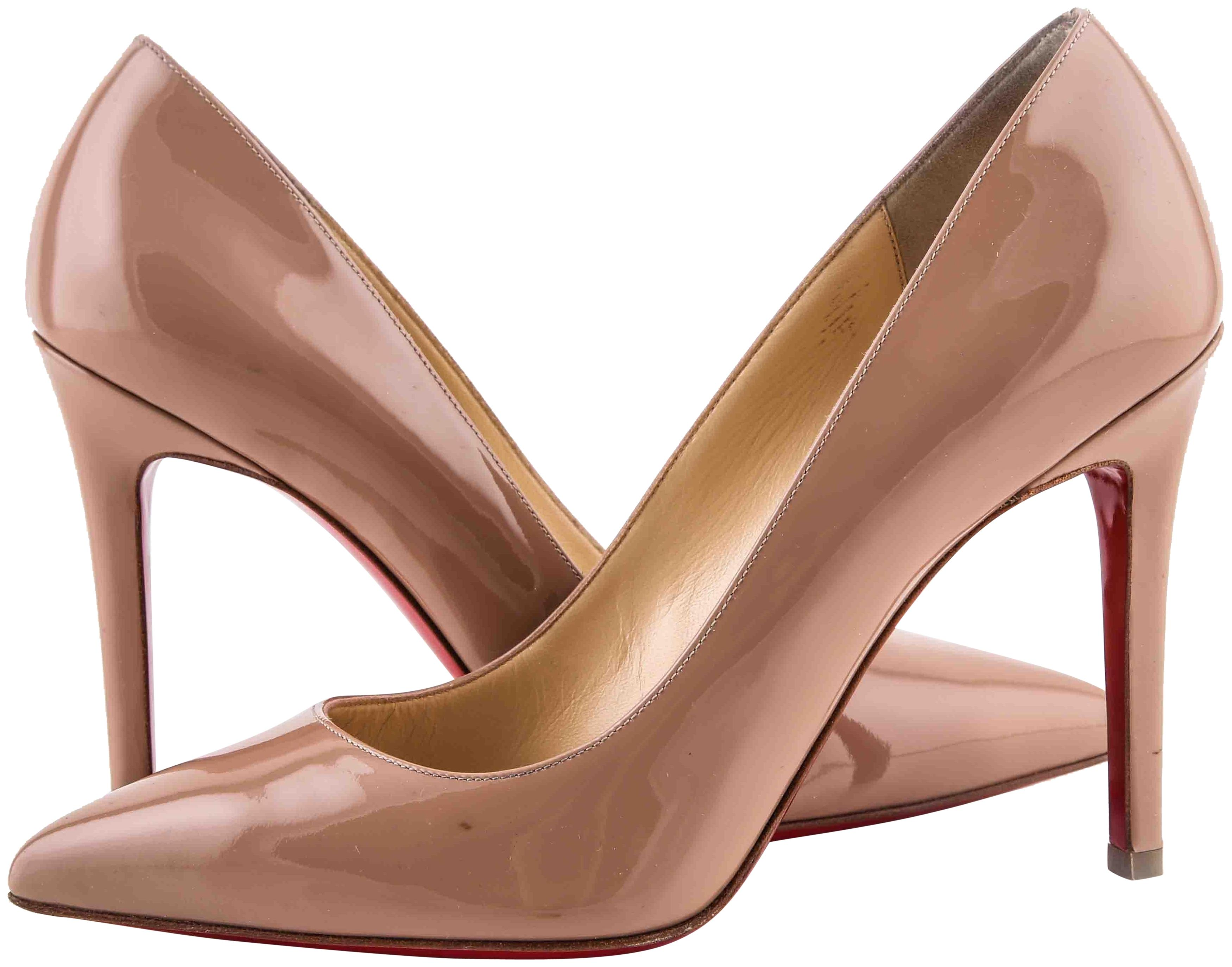 Christian Louboutin * Nude Pigalle / Classic Pumps Size US 7 Regular (M, B)