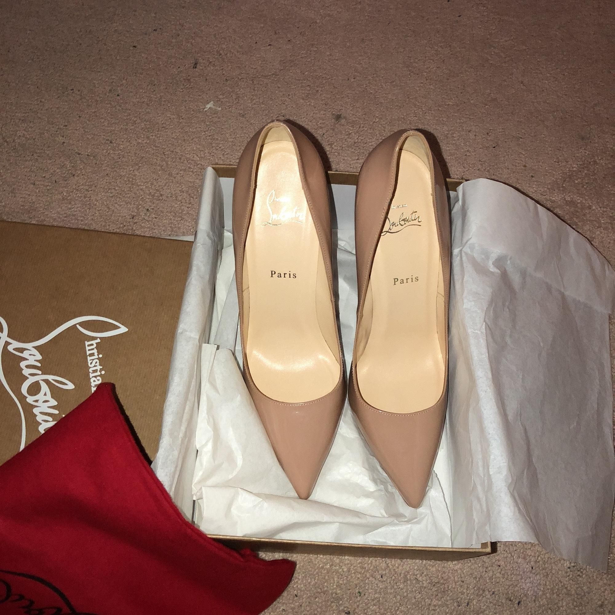 813216f68111 Christian Louboutin Pigalle Plato 120mm Pumps White