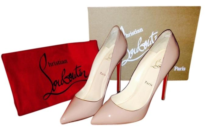 Christian Louboutin Nude Pumps Size US 9