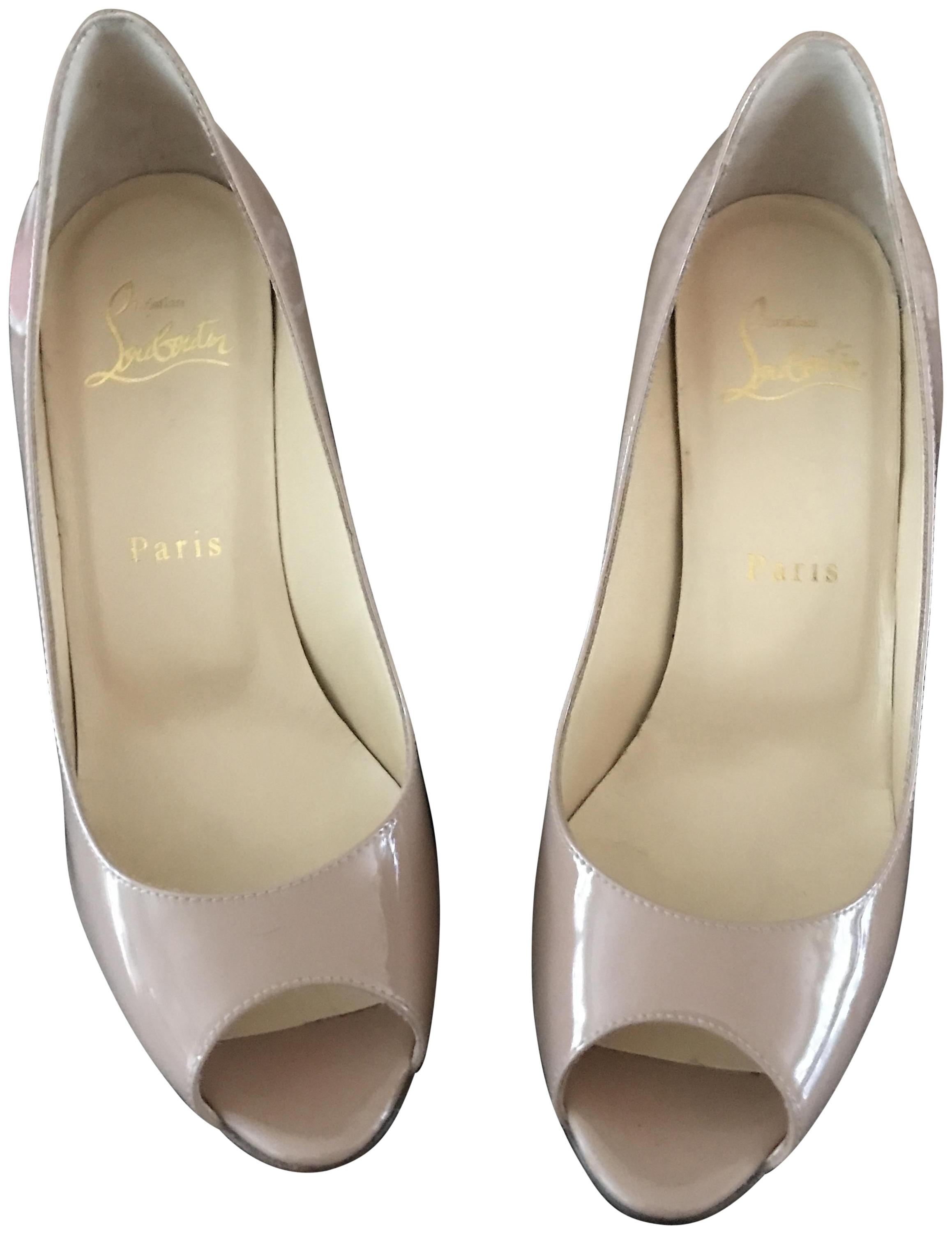Christian Louboutin Nude Yootish Pumps Size EU 36.5 (Approx. US 6.5) Regular (M, B)