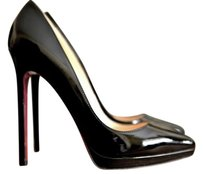 Christian Louboutin Pigalle Plato So Kate Black Pumps