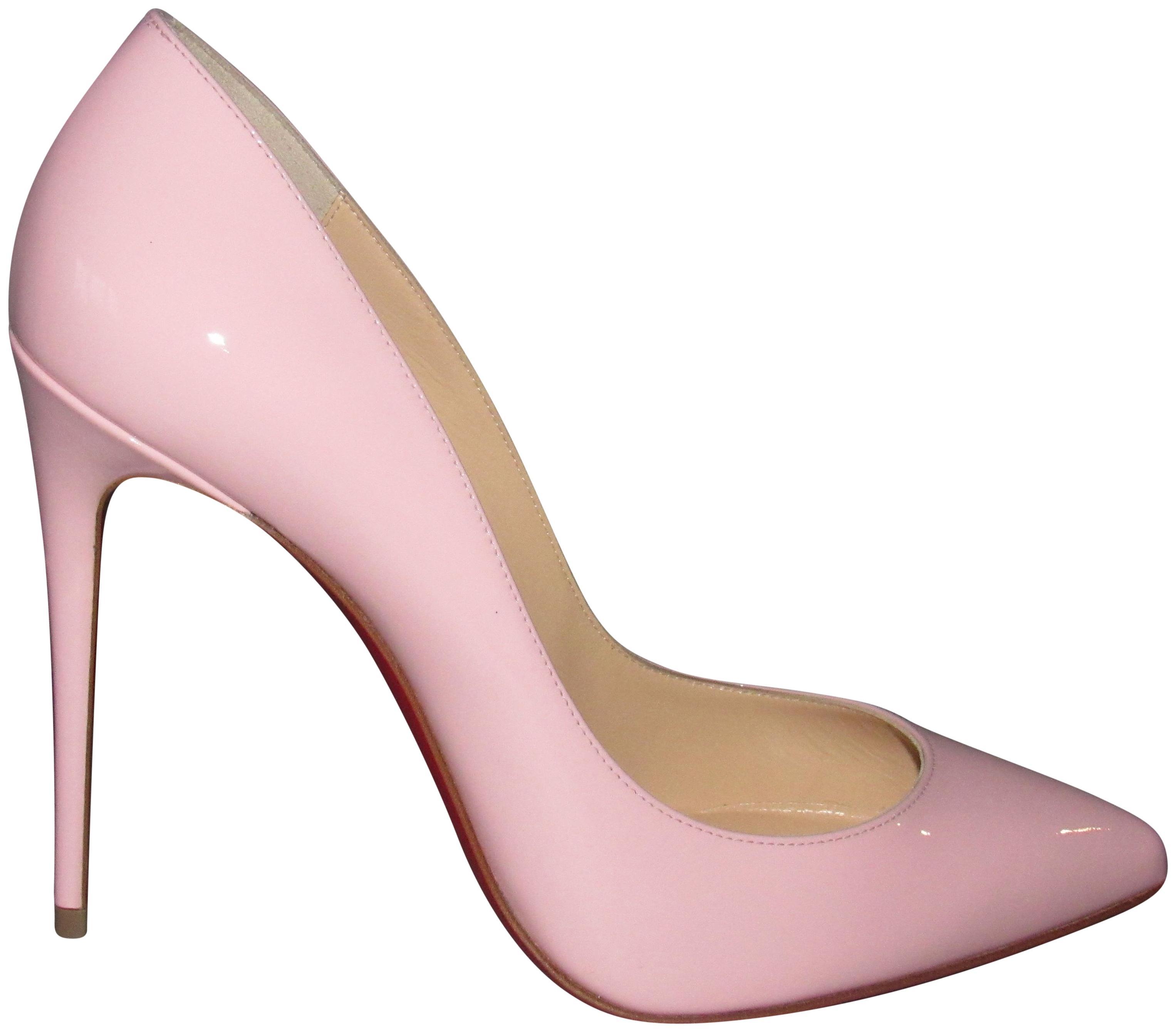 Christian Louboutin Pink / Pampadour New Pigalle Follies 100 Patent Classic Pumps Size EU 40 (Approx. US 10) Regular (M, B)