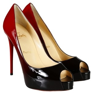 Christian Louboutin Red &Bback Pumps
