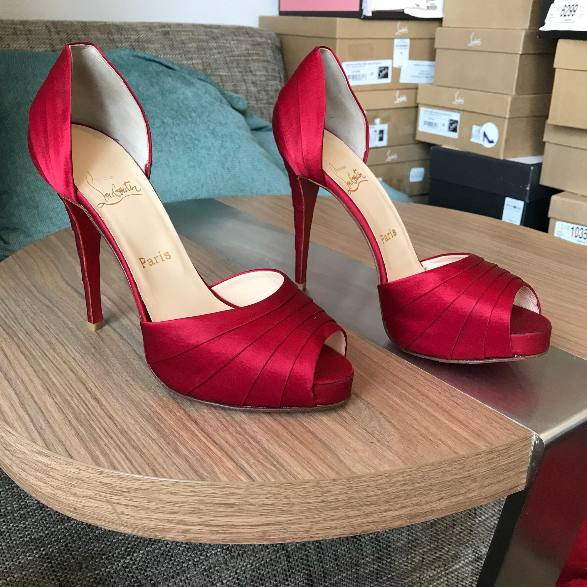 c06655a93898 ... Christian Louboutin Red Armadillo Pumps Size Size Size US 10.5 Regular  (M