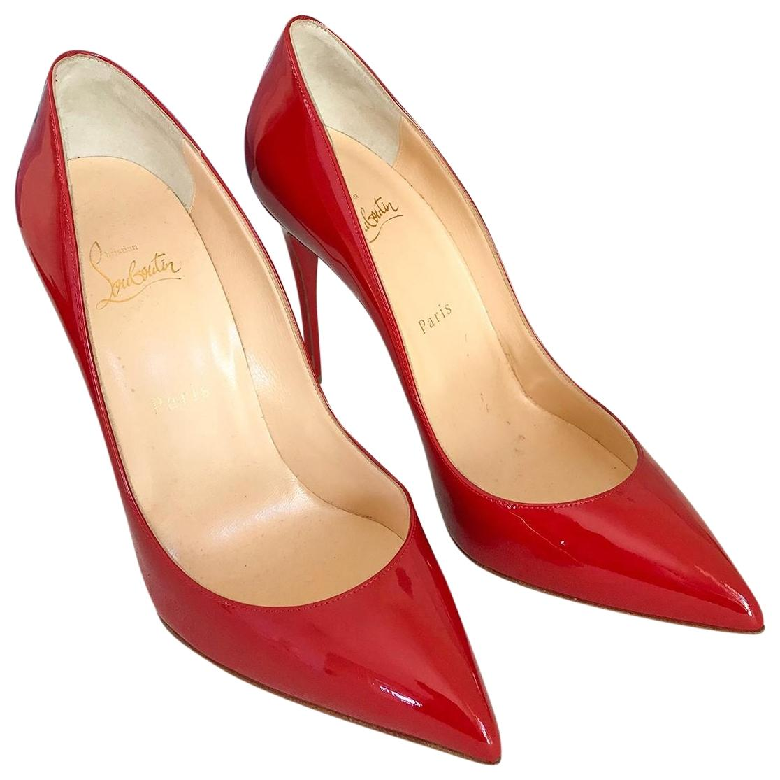 91a13e47f30 Christian Louboutin Red Patent Leather So Kate Kate Kate Pumps Size EU 39  (Approx. US 9) Regular (M