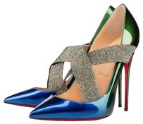 Christian Louboutin Sharpstagram Wedding Red Bottoms Loubotins Ocean - Amazone Pumps