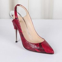 Christian Louboutin Womens Red Pumps