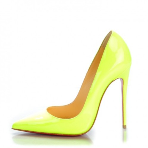 christian louboutin yellow