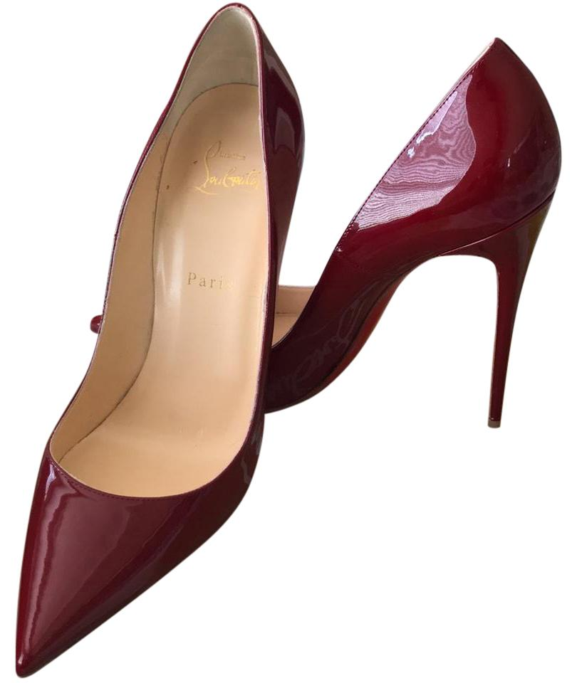 788a3791113f Christian Christian Christian Louboutin Wine Red So Kate 120 Patent Pumps  Size US 10.5 Regular (M