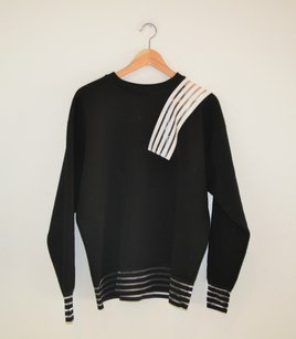 Christopher Kane Contrast Striped Sweatshirt