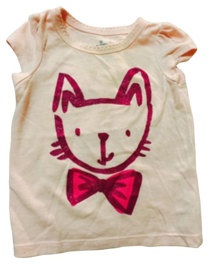 circo infant clothing t shirt pink with purple cat 49