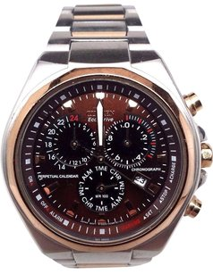 Citizen Citizen Bl5416-52x Eco Drive Two Tone Perpetual Calendar Wr-100 Mens Watch