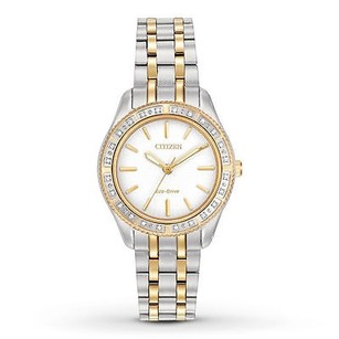 Citizen Citizen Eco-drive Ladies Carina Diamond Dress Watch Em0244-55a