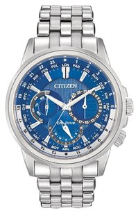 Citizen Citizen Eco-Drive Men's BU2021-51L Calendrier Stainless Steel Watch